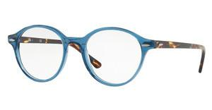 Ray-Ban RX7118 8022 TRASPARENT GREY/BLUE