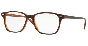 Ray-Ban RX7119 5713 TOP HAVANA ON LIGHT BROWN