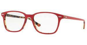 Ray-Ban RX7119 5714 TOP BRODEAUX ON HAVANA GREEN