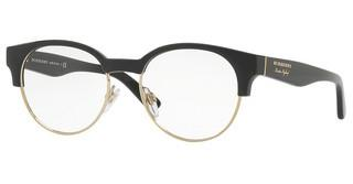 Burberry BE2261 3001 BLACK/LIGHT GOLD