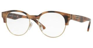 Burberry BE2261 3641 SPOTTED BROWN/LIGHT GOLD