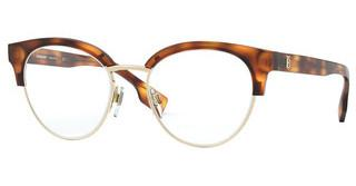 Burberry BE2316 3316 LIGHT HAVANA/PALE GOLD