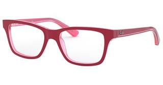 Ray-Ban Junior RY1536 3761 TRANSPARENT PINK ON TOP BORDEA