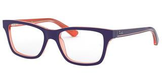 Ray-Ban Junior RY1536 3762 TRASP ORANGE ON TOP BLUE