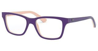 Ray-Ban Junior RY1536 3818 TOP VIOLET ON PINK/BLUE