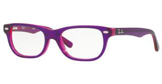 Ray-Ban Junior RY1555 3666 VIOLET ON FUXIA FLUO