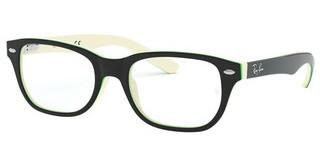 Ray-Ban Junior RY1555 3820 BLACK ON WHITE/GREEN
