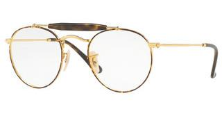 Ray-Ban RX3747V 2945 GOLD TOP HAVANA