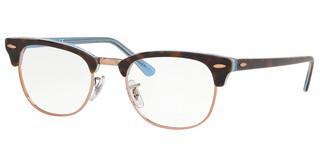 Ray-Ban RX5154 5885 TOP HAVANA ON LIGHT BLUE