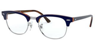 Ray-Ban RX5154 5910 TOP BLUE ON HAVANA RED