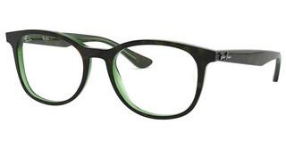 Ray-Ban RX5356 2383 TOP HAVANA ON GREEN TRANSP.