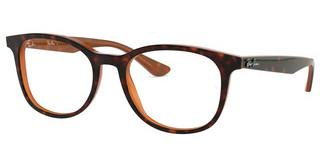 Ray-Ban RX5356 5713 TOP HAVANA ON LIGHT BROWN
