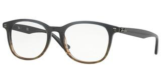 Ray-Ban RX5356 5766 GRADIENT GREY ON STRIPPED GREY