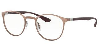 Ray-Ban RX6355 3058 BRUSCHED COPPER