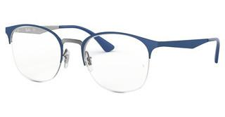Ray-Ban RX6422 3006 GUNMETAL ON TOP MATTE BLUE
