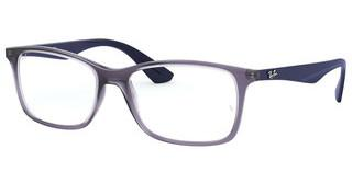 Ray-Ban RX7047 5995 TRANSPARENT VIOLET