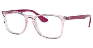 Ray-Ban RX7074 5863 TRASPARENT PINK