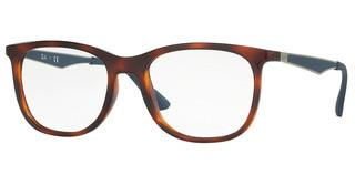 Ray-Ban RX7078 5599 SHINY LIGHT HAVANA