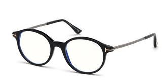 Tom Ford FT5554-B 001 schwarz glanz