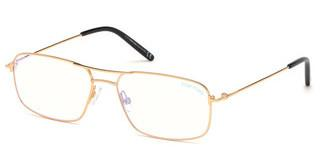 Tom Ford FT5582-B 030 tiefes gold glanz