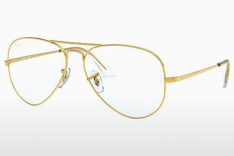 Lunettes design Ray-Ban AVIATOR (RX6489 3086)