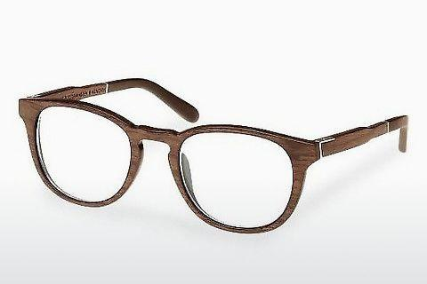 Lunettes design Wood Fellas Bogenhausen (10911 walnut)