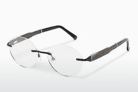 Lunettes design Wood Fellas Thalkirchen II (10924 ebony)