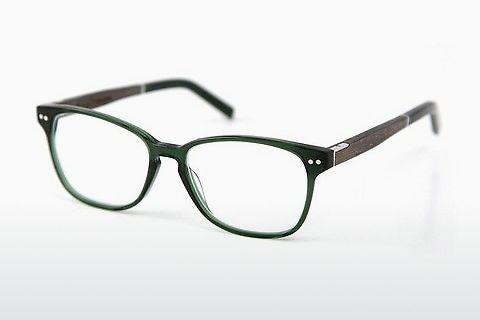 Lunettes design Wood Fellas Sendling Premium (10937 grey oak/crystal green)