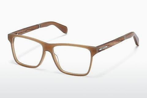 Lunettes design Wood Fellas Waldau (10941 zebrano)
