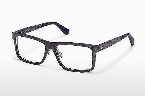 Lunettes design Wood Fellas Eisenberg (10943 black oak)