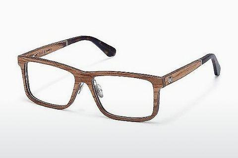 Lunettes design Wood Fellas Eisenberg (10943 zebrano)