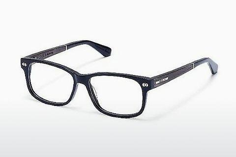 Lunettes design Wood Fellas Marienberg (10946 black oak)