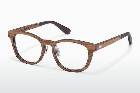 Lunettes design Wood Fellas Falkenstein (10950 zebrano)