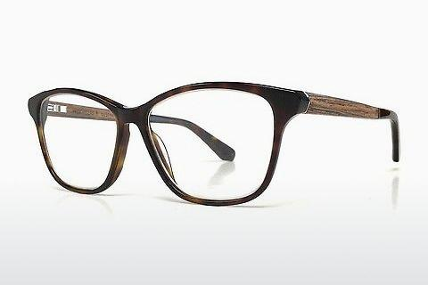 Lunettes design Wood Fellas Lustheim (10963 macassar)