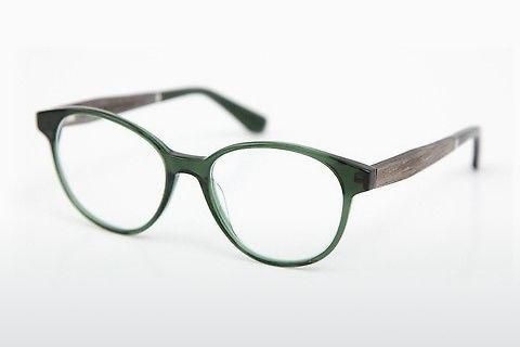 Lunettes design Wood Fellas Haldenwang (10972 grey oak/crystal green)