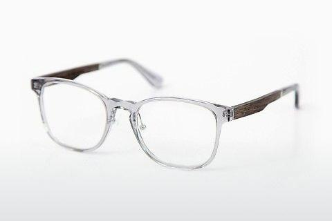 Lunettes design Wood Fellas Friedenfels (10975 black oak/crystal grey)