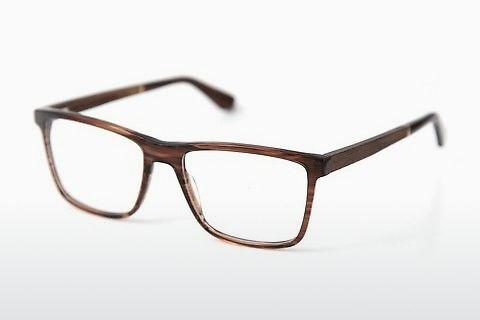 Lunettes design Wood Fellas Wildenwart (11003 walnut/crystal brw)