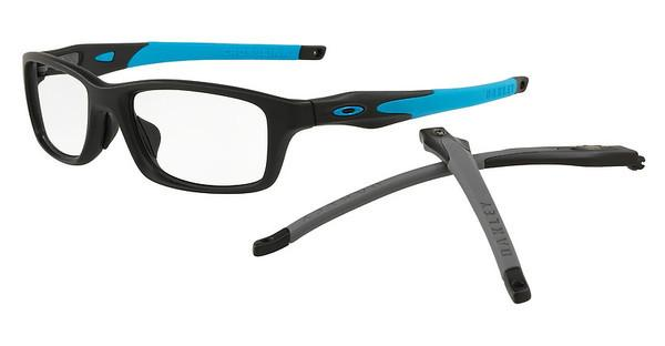 Oakley   OX8044 804401 SATIN BLACK/SKY BLUE