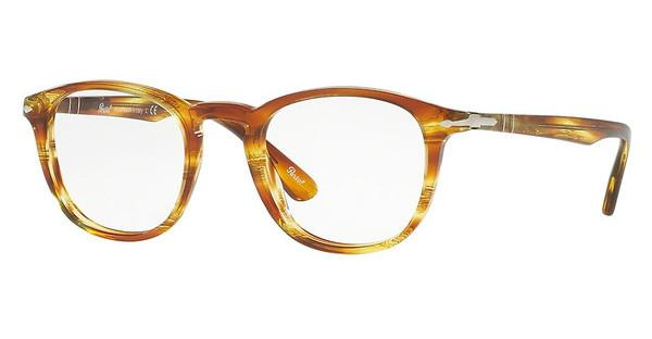 Persol   PO3143V 1050 STRIPED BROWN YELLOW