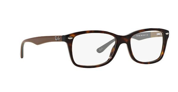 Ray-Ban Per Donna Rx5228 5408 (highstreet) - 53 Mm (top Matte Violet On Texture/) AWhss
