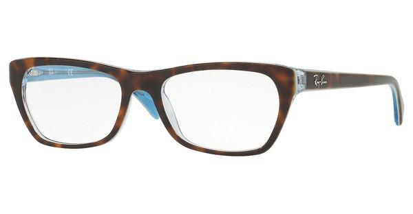 Ray-Ban   RX5298 5023 TOP HAVANA ON HAVANA BLUE