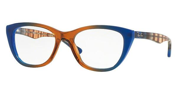 Ray-Ban   RX5322 5488 GRADIENT BROWN ON BLUE