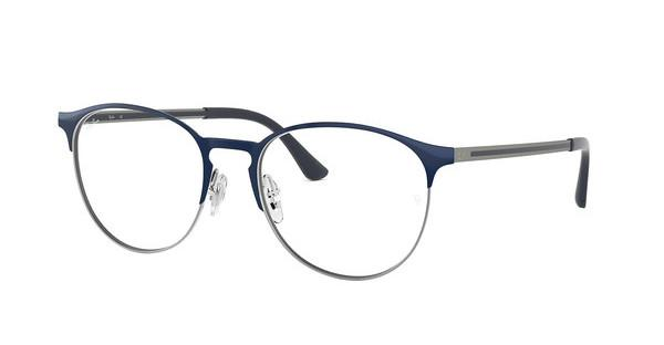 Ray-Ban   RX6375 2981 GUNMETAL ON TOP BLUE
