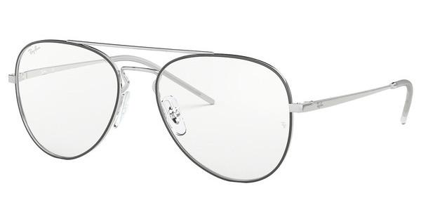 Ray-Ban   RX6413 2983 SILVER TOP BLACK