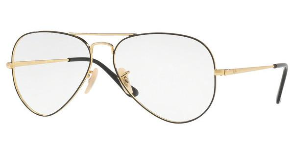 Ray-Ban   RX6489 2946 GOLD ON TOP BLACK