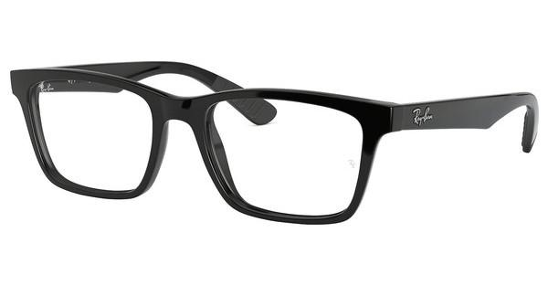Ray-Ban   RX7025 2000 SHINY BLACK