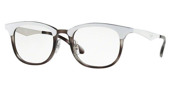 Ray-Ban   RX7112 5728 GREY HAVANA TOP MAT WHITE