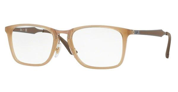 Ray-Ban   RX7131 8018 TRASPARENT BEIGE