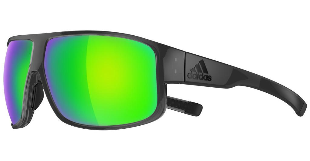 Adidas   AD22 6600 COAL SHINY GREEN