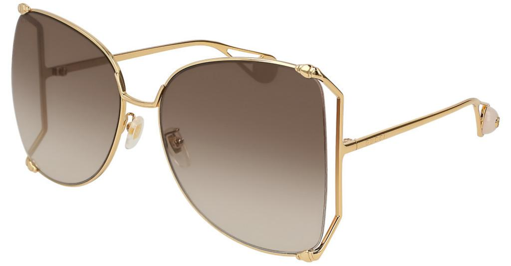 Gucci   GG0252S 003 BROWNGOLD